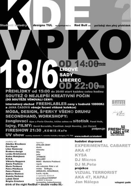 plakát KDE v PKO
